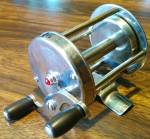 Click to view larger image of Bronson Bitwell Jeweled Level Wind Reel (Image5)
