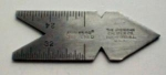American Caliper Co. Center Gauge Rare Maker