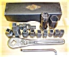 Click to view larger image of Mossberg Antique Ratchet Wrench Set + Box No. 350 (Image2)