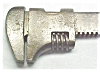 Click to view larger image of Barnes Adjustable 4 inch Wrench  Rare! (Image4)