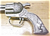 Click to view larger image of Smokey Cap Gun Pistol Cast Metal (Image2)