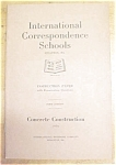 Concrete Construction Booklet ICS 1920