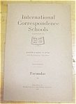 Formulas Mathmatical Booklet ICS 1920