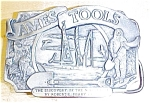 Click here to enlarge image and see more about item T8961: Siskiyou Ames Tools Belt Buckle North Pole