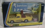 Click here to enlarge image and see more about item TOY161: Corgi Mazda Maintenance Truck MIB No. 413