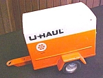 Click here to enlarge image and see more about item Toy442: Nylint U-Haul Trailer Enclosed Nice!
