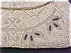 Click to view larger image of Antique Beaded Purse France Silver Beads (Image3)