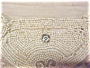 Click to view larger image of Beaded Purse France Silver Beads Antique (Image4)