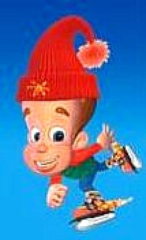 Adventures Of JIMMY NEUTRON Boy Genius #354012 Kurt Adler Viacom Nickelodeon ZEC0004 (Image1)