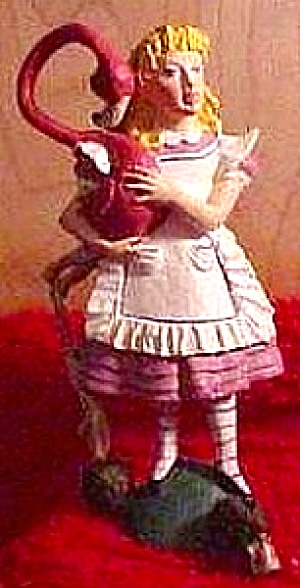 ALICE IN WONDERLAND Mark Jones & Tyler after John Tenniel PEWTER Hamilton Collection (Image1)
