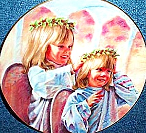 1986 THY KINGDOM COME #2 The LORD'S PRAYER A. WILLIAMS Girls Friends Angels Sisters (Image1)