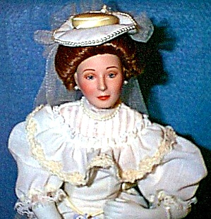 FLORA 1900s Classic Brides Of The Century W.S.George Roman E. Williams Porcelain (Image1)
