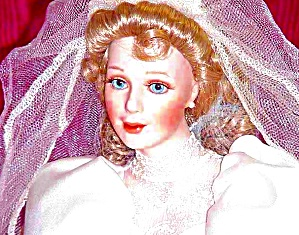 Jennifer Rose Classic Blue Eyed Bride Hamilton Collection Sandra Kuck (Image1)
