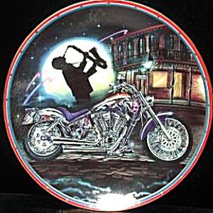 EASYRIDERS Bourbon Street M. LACOURCIERE HD BIKER PAISANO Tenor Sax wild horses Jazz (Image1)