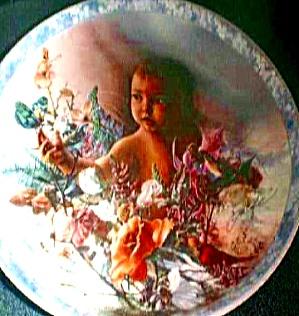 Precious Gift Heaven Sent Lee Bogle Bradford Exchange Infant Boy Cat 84-B10-91.4 (Image1)