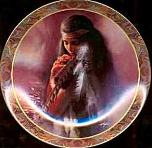 STIRRINGS OF THE HEART NATIVE BEAUTY Muralist Lee Bogle BRADEX 84-B10-145.8 Cherokee (Image1)