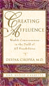 Creating Affluence Consciousness In Field All Possibilities Deepak Chopra 1878424017