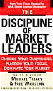The Discipline Of Market Leaders Fred Wiersema Michael Treacy Business Entrepreneurs
