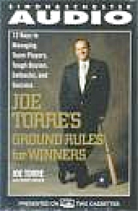 Joe Torre Ground Rules For Winners Read By Author N. Y. Yankees New 2 Cassettes 2 Hrs