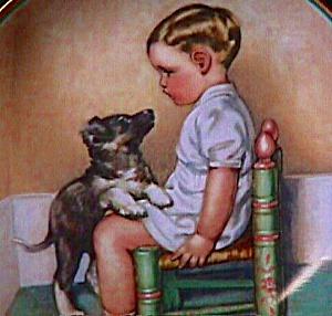 A Child's Best Friend #5 SYMPATHY Bessie Pease Gutmann Puppy Still Loves You Cutmann (Image1)