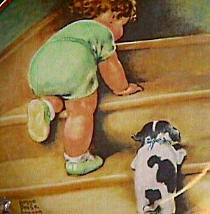 A Child's Best Friend #6 ON THE UP & UP Artist Bessie Pease Gutmann Cutmann (Image1)