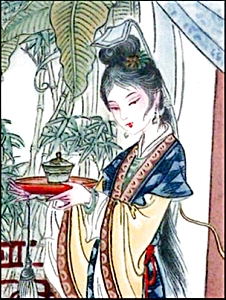 10-150-1.5 BradEx Beauties of Red Mansion Artist Zhao Humins Imperial Jingdezhen Porc (Image1)