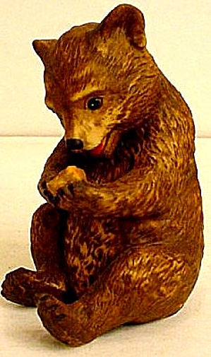ROGER BROWN Endangered BABY BEAR BAXTER #2 New Jersey Philadelphia Animal Artist 1984 (Image1)