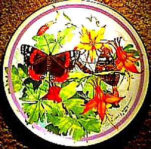 1988 RED ADMIRAL  BUTTERFLY GARDEN PAUL J. SWEANY (Image1)