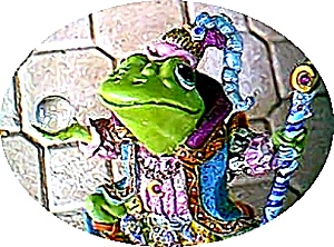 Camelot Frog Wizard of Camelot by Artist Steve Kehrli #2 2nd in series (Image1)