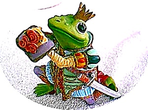 Camelot Frog SIR HOP A LOT  by Artist Steve Kehrli 1 of 12 in series MINT (Image1)