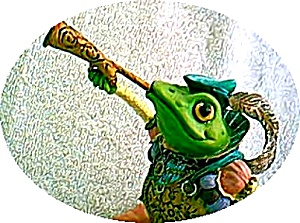 Camelot Frog ROYAL RIBBITEER Trumpet Artist Steve Kehrli #11 11th in series MIOB Horn (Image1)