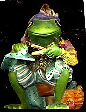 Camelot Frogs The REGAL TAILOR by Artist Steve Kehrli 1 in series of 12 MINT (Image1)