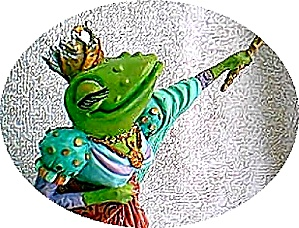 Camelot Frogs Queen Ribbit by Artist Steve Kehrli 1 in series of 12 MINT (Image1)