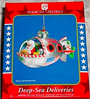 American Greetings Operation Santa Deep Sea Deliveries MMORN-009L 9TH ANNIVERSARY '04 (Image1)