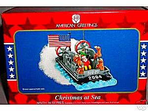 American Greetings Operation Santa Christmas At Sea #MMORN-007L 9TH ANNIVERSARY 2004 (Image1)