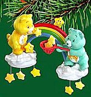 MAKING THE SEASON BRIGHT FUNSHINE WISH Carlton Heirloom 2004 #CXOR-094L 94 Care Bears (Image1)