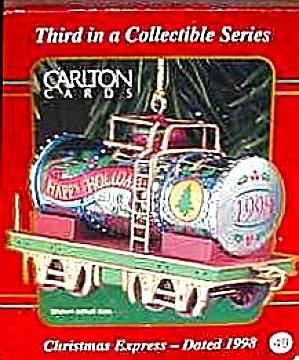 1998 CXOR-004Y #3 Christmas Express Tanker Train Car Seies M. Gilmore #49 AGC Carlton (Image1)