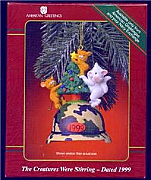 The Creatures Were Stirring 1999 Navy Operation Santa Kitty Mice Camo Helmet Mmorn911