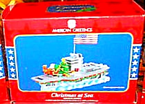 Christmas At Sea 2005 Aircraft Carrier Operation Santa #10 Mmorn-008n American Greeti