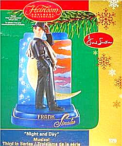 2006 Frank Sinatra Cxor-129p Night And Day #3 Light Of Moon Heirloom Musical Ornament