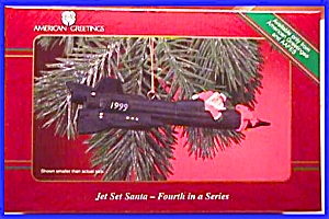 1999 Operation Santa Jet Set Santa Mmorn901 #4 Aafes Air Force Usaf American Greeting