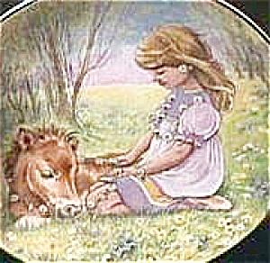 SUNDAY'S CHILD A CHILD'S BLESSING Cooper Is Bonny Blithe Good Gay Girl Pony CrownWare (Image1)
