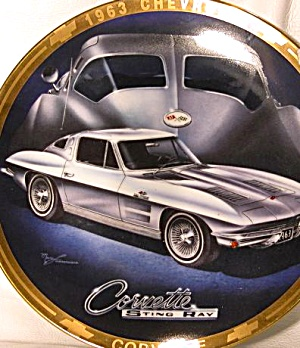 1963 CORVETTE Marc Lacourciere Classic Corvettes '63 Silver Grey Split Window Coupe (Image1)
