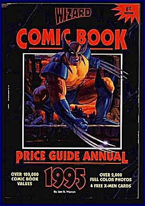 WIZARD COMIC BOOK PRICE GUIDE 1995 ANNUAL (Image1)