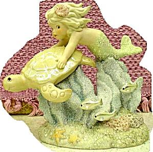 ECHO CORAL KINGDOM Mermaid Tropical Series 6 in #137308 Limited Edition Turtle Ltd.Ed (Image1)