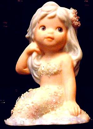 DAPHNE CORAL KINGDOM Mermaid Tropical Series #925799 4 in Enesco Darryl Hannah Splash (Image1)