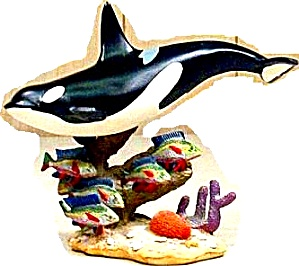 Ocean's Bounty - Coral Reef Beauties : Orca Killer Whales Fish Tropical /Don Everhart (Image1)