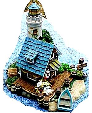 Teddie's Boat Shop : Cherished Teddies Village /Teddie P. Hillman HAMILTON Mail Order (Image1)