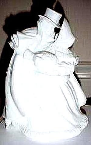 WINTER SILHOUETTE TREASURES #77720 7772-0 SKATING COUPLE 1988 Victorian Loving Cpl (Image1)
