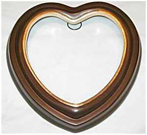 Bradford Exchange Heart Shaped Plate Holder Hanger 6 1/2 7 in LUCY GUTMANN ANGEL 3sz. (Image1)